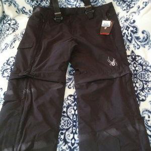 Spyder Men Training Snow Pants.or Shorts Ski XL